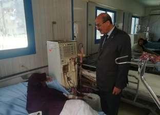"""وكيل """"صحة البحيرة"""" يتفقد سير العمل بمستشفى الرحمانية المركزي"""