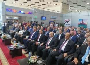وزيرا الطيران والسياحة يصلان مقر مؤتمر افتتاح مطار العاصمة الإدارية
