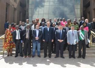 أسامة هيكل يستقبل وفد الصحفيين والإعلاميين الأفارقة