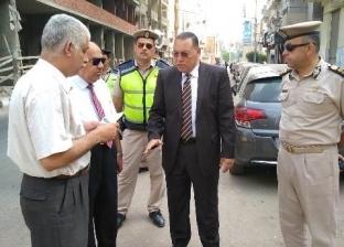 محافظ الشرقية يتفقد أعمال تنفيذ نفق عرابي في مدينة الزقازيق