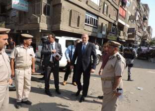 مدير أمن القليوبية يقود حملة أمنية مكبرة على شبرا الخيمة
