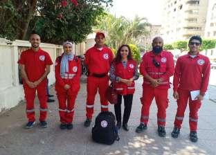 """""""الهلال الأحمر"""": إسعاف 17 مواطنا في مصر الجديدة أثناء الاستفتاء"""