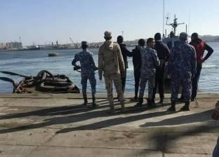 شرطة المسطحات المائية تقبض على لصوص الزريعة ببورسعيد