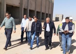 رئيس مدينة بدر يتابع سير العمل بمحطة محولات كهرباء الإسكان الاجتماعي