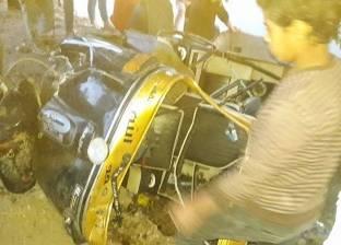 حبس سائق التوك توك المتسبب في غرق 7 تلاميذ بالبحيرة