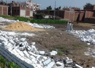 إزالة 32 حالة تعد على الأراضي الزراعية في كفر الشيخ