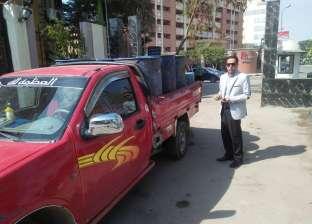 """تحرير 24 محضرا ضد 12 سيارة لـ""""إهدار المياه"""" في النزهة"""