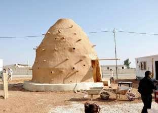 بالصور| مدرسة للاجئين بنيت بأكياس الرمال تفوز بجائزة الهندسة المعمارية