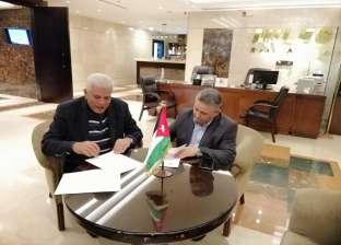 نقيب الزراعيين يوقع مذكرة تفاهم مع نظيره الأردني لتحقيق التنمية