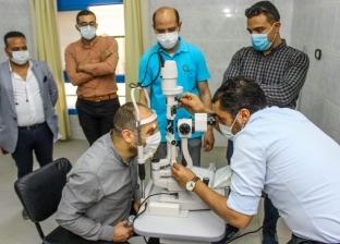 إهداء «مبرة الزقازيق» أحدث جهاز لتشخيص أمراض العيون