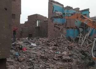 """إزالة  9 عقارات بـ""""عرب يسار"""" في الخليفة لتطوير المنطقة"""