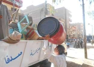 تحرير 240 محضر إشغالات ونظافة عامة خلال حملة مكبرة في أسيوط