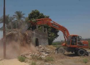 محافظة الاقصر تواصل أعمال إزالة التعديات على أملاك الدولة