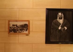 """""""العربية"""": صور نادرة لمؤسس السعودية يؤدي """"العرضة النجدية"""""""