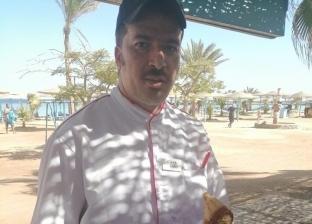 """ساموراي من عجينة الملح.. """"شيف"""" مصري يفوز بمهرجان الطهاة الدولي"""