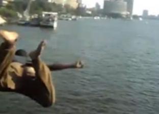 الشرطة تنقذ شابا يحمل جنسية عربية من الغرق في النيل