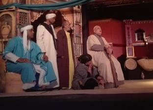 """""""أصل وعفريت"""".. عرض كوميدي بمسرح محافظة المنيا"""