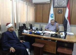 رئيس مياه أسيوط يستقبل وفدا من أئمة مساجد مديرية الأوقاف بالمحافظة