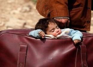 """""""حقائب الأمل"""".. طريق خلاص أطفال الغوطة من مأساة الصراع"""