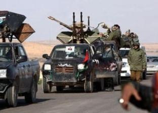 عاجل| انسحاب كتائب الوفاق الليبية لمقر الجوازات في منطقة صلاح الدين