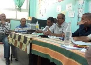 إدارة أبوزنيمة التعليمية تناقش تفاصيل الاستعداد للعام الدراسي الجديد