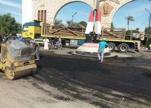 رفع 11 طن مخلفات من شوارع حي الكوثر في سوهاج