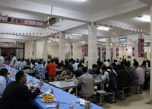 """أمين """"البحوث الإسلامية"""" يلتقي الطلاب الوافدين في إفطار جماعي"""