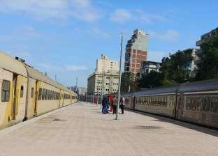مصرع عامل صدمه قطار في محطة سكك حديد المنيا