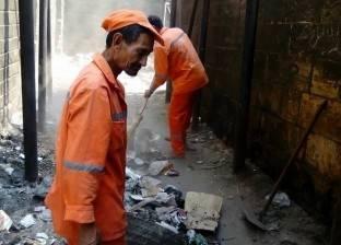 """""""تجميل الجيزة"""": نعاني نقصا في عدد عمال النظافة"""