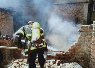 السيطرة على حريق نشب أعلى عقار في أسيوط