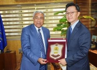 محافظ أسوان باستقبال سفير كوريا الجنوبية: نتطلع لزيادة حجم الاستثمارات