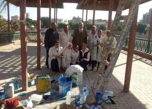 محافظ أسيوط يتفقد أعمال تطوير وتجميل الشوارع والميادين