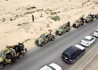 الجيش الوطنى الليبي يستعيد مواقع شرق العاصمة طرابلس