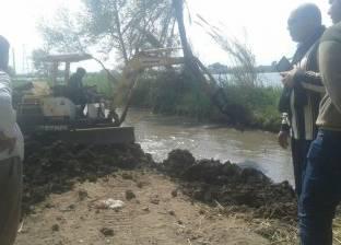 الوحدة المحلية بالعدلية تتصدى لإقامة مزرعة قراميط مخالفة في دمياط
