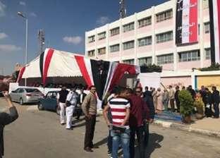 رئيس مجلس مدينة شبرا الخيمة ورئيس الحي يتفقدان اللجان الانتخابية