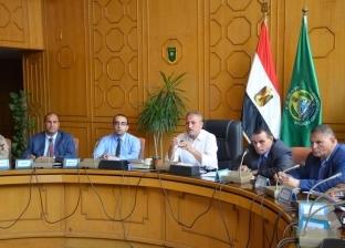 محافظ الإسماعيلية يطالب التنفيذيين تكثيف أعمال المتابعة الميدانية