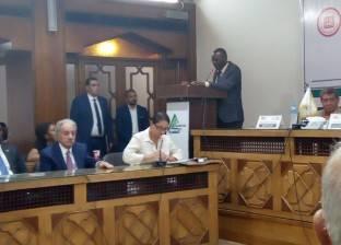 نقيب مهندسي أوغندا يشيد بجهود مصر بالوقوف مع الأشقاء الأفارقة