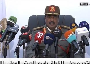 المسماري: هناك أياد أجنبية وراء سقوط طائرة الجيش الليبي جنوب طرابلس