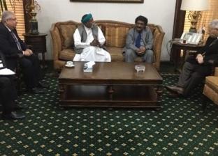 مكرم يتفق مع السفير السوداني على إنتاج درامي مشترك رمضان المقبل