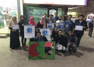 حملة لطلاب صيدلة بني سويف لمواجهة الاستخدام المفرط للمضادات الحيوية