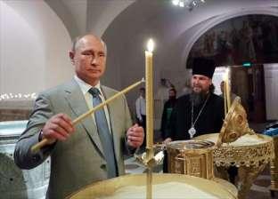 بوتين يضع حجر الأساس لكنيسة القوات المسلحة الروسية