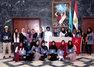 """طلاب """"نزوى العمانية"""": نفتخر بتدريبنا في جامعة طنطا"""