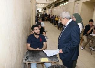 نائب رئيس جامعة طنطا يتفقد امتحانات كليتي الحقوق والصيدلة