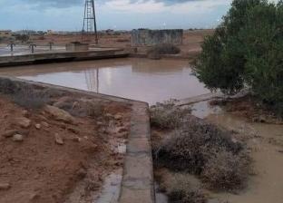 قبيلة كاملة تعيش على خزان مياه أمطار طوال العام في مطروح