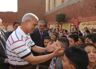 """""""تعليم المنوفية"""": انتظام 13 مدرسة قبطية في أول يوم دراسة"""