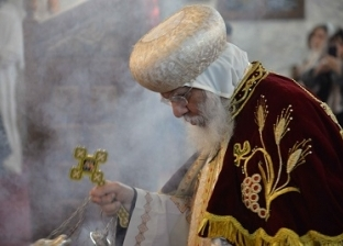 """رئيس جامعة بني سويف يشهد """"قداس عيد الميلاد المجيد"""""""