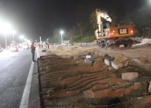 بالصور| تطوير منطقة دلتا شارم بتكلفة 8.5 مليون جنيه