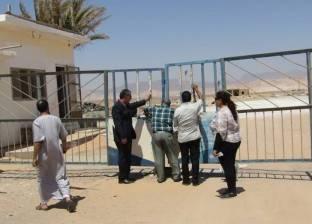 """""""أملاك الدولة"""" تسترد قطعة أرض على مساحة 1000 متر في أبورديس جنوب سيناء"""