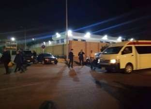 بالصور| أسرة الشهيد ساطع النعماني تستعد لاستقبال جثمانه بمطار القاهرة