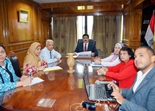 """محافظ القليوبية يجتمع مع نائب """"التخطيط"""" لدراسة مناطق الامتداد العمراني"""